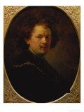 Self Portrait, 1633 Giclee Print by  Rembrandt van Rijn