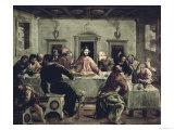 Das letzte Abendmahl Giclée-Druck von  El Greco