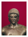 The Apollo of Piombino, Head of the Statue, Found in Benevento, Greek, circa 480 BC Giclee Print