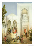 The Palace of the Khan of Baku, Apsheron Peninsula Giclee Print by Grigori Grigorevich Gagarin