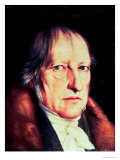 Portrait of Georg Wilhelm Friedrich Hegel, 1825 Giclee Print by Jacob Schlesinger