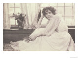 Portrait Photograph of Beatrice Stella Tanner Mrs. Patrick Campbell Giclee Print by Frederick Hollyer