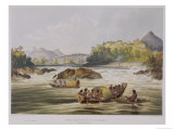 "Brazilian Fort St. Gabriel on the Rio Negro, from ""Views in the Interior of Guiana"" Giclee Print by Charles Bentley"