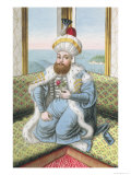 "Mehmed II (1432-81) Called ""Fatih,"" the Conqueror Giclee Print by John Young"