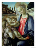 Madonna and Child with Angels Giclee Print by Sandro Botticelli