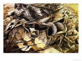 The Charge of the Lancers, 1915 Giclee-trykk av Umberto Boccioni