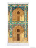 Detail of the Courtyard Arcades in the Medrese-I-Shah-Hussein, Isfahan Giclee Print by Pascal Xavier Coste