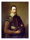 Portrait of Claudio Monteverdi Premium Giclee Print by Domenico Fetti