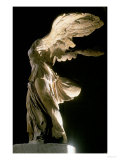 Side View of the Victory of Samothrace Giclee Print