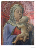 Madonna and Child, circa 1430 Giclee Print by Fra Filippo Lippi