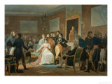 The Morning of the 18th Brumaire 1799 Giclee Print by Henri-frederic Schopin