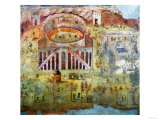 A Fight in the Amphitheatre, 59 Ad, Battle Between Citizens of Pompeii and Neceria Giclee Print