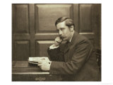 Portrait Photograph of Herbert George Wells 1903 Premium Giclee Print by Frederick Hollyer
