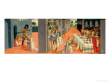 Scenes from the Martyrdom of St. John the Baptist Giclee Print by Francesco & Raffaello Botticini
