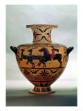 Etrusco-Ionian Black-Figure Hydria Depicting a Hunting Scene, from Cerveteri, circa 540-530 BC Giclee Print