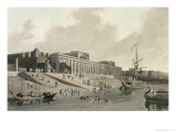 Old Fort Gaut, Calcutta, 1810 Giclee Print by Thomas & William Daniell