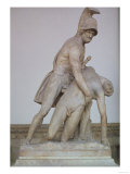 Menelaus Supporting the Body of Patroclus, Roman Copy of a Greek Original, 150-125 BC Giclee Print