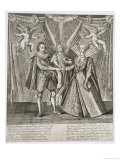 Celebration of the Marriage of James VI and I and Anne of Denmark Giclee Print by Francis Delaram
