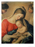 The Sleeping Christ Child Giclée-tryk af Giovanni Battista Salvi da Sassoferrato
