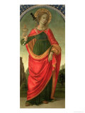 St. Lucy, circa 1472-74 Giclee Print by Filippino Lippi