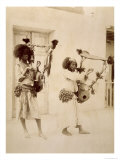 Nubian Musicians Giclee Print by G. Lekegian