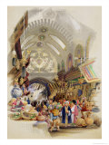 The Missr Tcharsky, or Egyptian Market, in Constantinople Giclee-vedos tekijänä A. Margaretta Burr