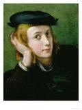 Portrait of a Young Man Gicleetryck av Parmigianino,