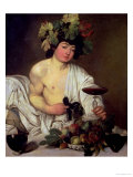 The Young Bacchus, circa 1596 Giclee Print by  Caravaggio