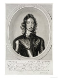 Portrait of Thomas, Lord Fairfax Premium Giclee Print by Robert Walker