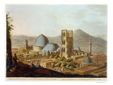 "Jerusalem with the Church of the Holy Sepulchre, Plate 3 from ""Views in Palestine"" Giclee Print by Luigi Mayer"