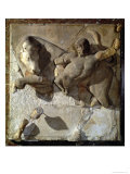 Hercules Fighting the Cretan Bull, One of a Series of Twelve Metopes Giclee Print