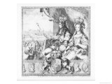 William III and Mary II Giclee Print by Romeyn De Hooge
