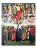 The Ascension of Christ, 1495-98 (Oil on Panel) Giclée-Druck von Pietro Perugino