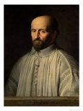 Portrait of the Abbot of Saint Cyran, circa 1643 Giclee Print by Philippe De Champaigne