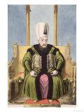 "Ahmed I Sultan 1603-17, from ""A Series of Portraits of the Emperors of Turkey,"" 1808 Giclee Print by John Young"