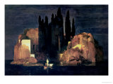 L'Île des Morts - Die Toteninsel, 1880 Reproduction procédé giclée par Arnold Bocklin