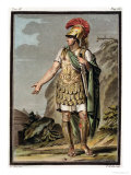 "Achilles in Armour, Costume for ""Iphigenia in Aulis"" Giclee Print by Philippe Chery"