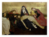 The Avignon Pieta, 1444-66 Giclee Print by Enguerrand Quarton