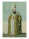 "Amurath III Sultan 1574-95, from ""A Series of Portraits of the Emperors of Turkey,"" 1808 Giclee Print by John Young"