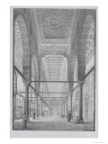 "View of the Sanctuary of the Mosque of Moyed, Plate 29 from ""Monuments and Buildings of Cairo"" Giclee Print by Pascal Xavier Coste"