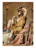 "Agamemnon, Costume for ""Iphigenia in Aulis"" Giclee Print by Philippe Chery"