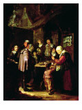 The Charlatan Giclee Print by Frans Van Mieris