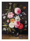 Still Life of Flowers in a Vase, 1661 Giclee Print by Jan van Kessel