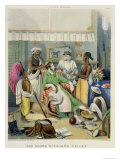 "The Young Civilian's Toilet Plate 1 from ""Anglo Indians"" Giclee Print by William Tayler"