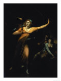 Lady Macbeth Sleepwalking, 1783 Giclee Print by Henry Fuseli