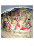 The Sermon on the Mount, 1442 Giclee Print by  Fra Angelico