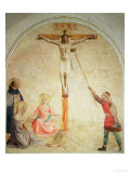 The Crucifixion with the Sponge-Bearer, 1442 Giclee Print by  Fra Angelico