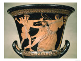 Herakles Struggling, Detail from an Attic Red-Figure Calyx-Krater, 5th Century BC Giclee Print