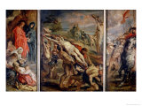The Raising of the Cross, Painted Before 1609-10 Giclee Print by Peter Paul Rubens