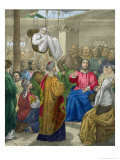 The Sick of the Palsy Brought to Christ by His Friends Giclee Print by Siegfried Detler Bendixen